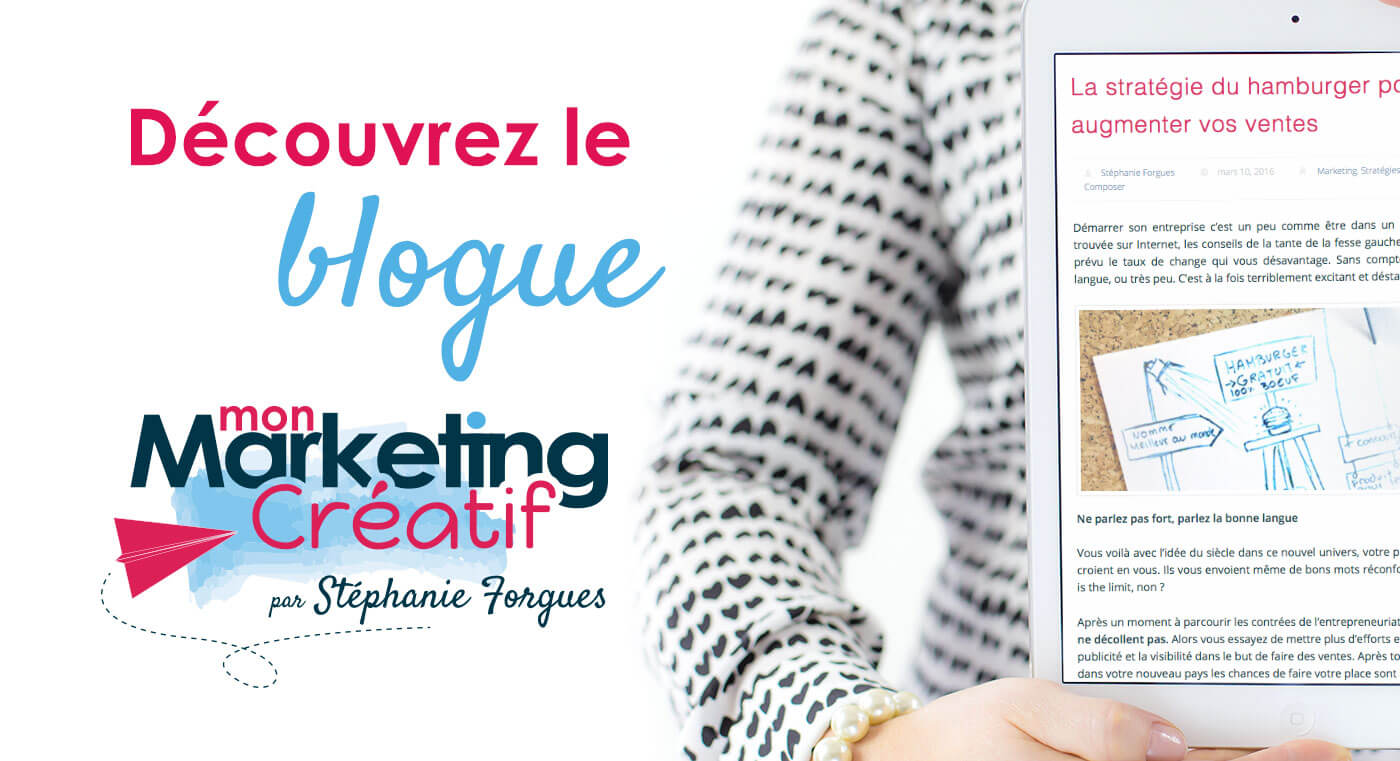 blogue marketing créatif