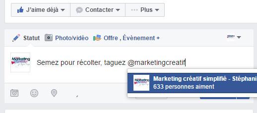 stratégie facebook, marketing