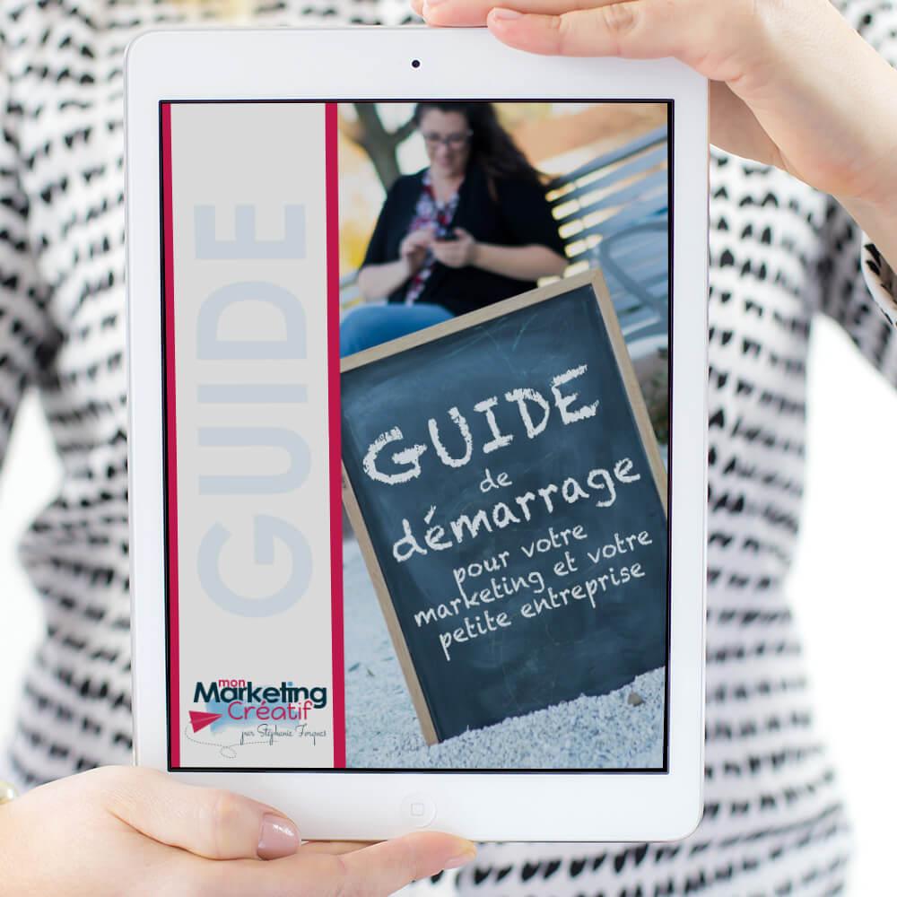 guide démarrage entreprise marketing