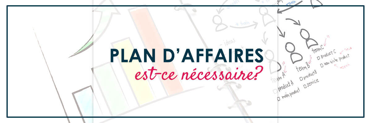 modèle plan d'affaires et marketing