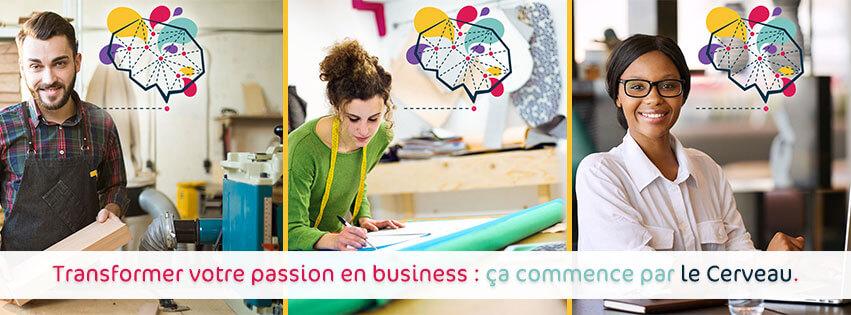 le Cerveau programme marketing pour entrepreneurs créatifs